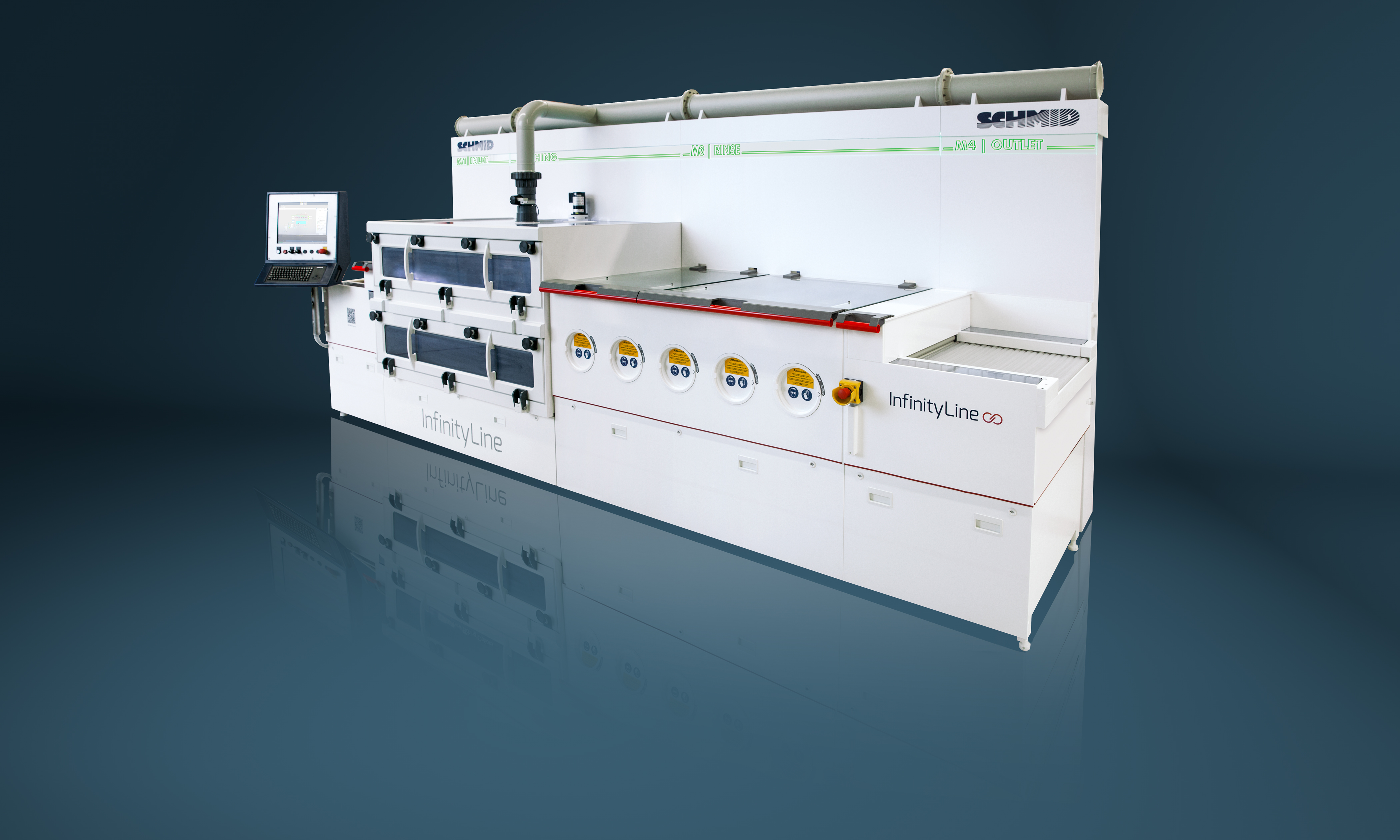 Innovative Circuits Relies On Schmids Infinityline Schmid Group Printed Circuit Board Machine The